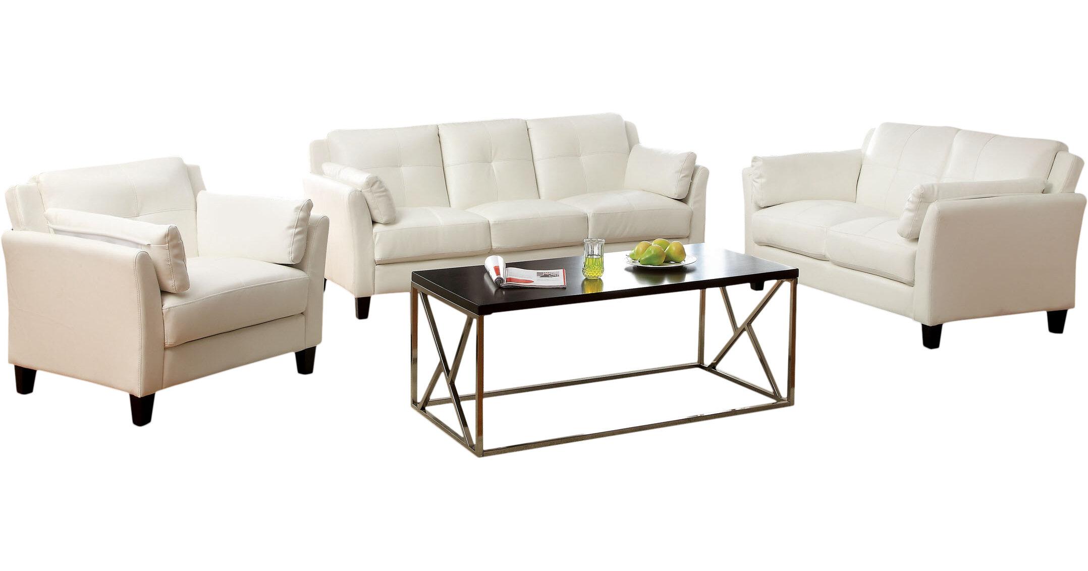 Hokku Designs Drevan Configuration Living Room Set & Reviews | Wayfair