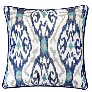 Frenette Woven Cotton Throw Pillow