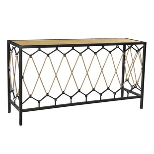 Lupien Console Table by Bloomsbury Market