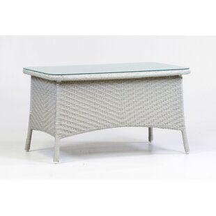 Isabell Wicker Coffee Table