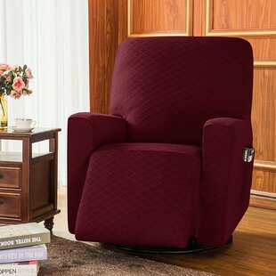 Box Cushion Recliner Slipcover By Subrtex