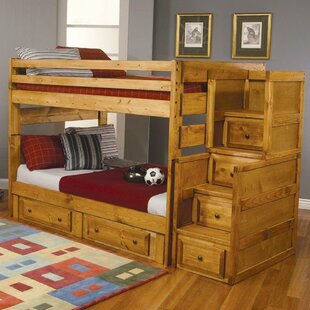 Culbreath Full Over Full Bunk Bed with Drawers