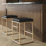 Northfleet Bar & Counter Stool by Everly Quinn