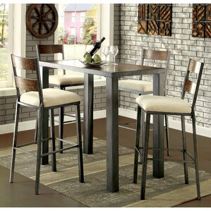 Thurston 5 Piece Pub Table Set
