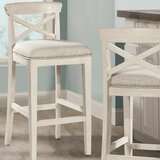Rawlings 30 Bar Stool (Set of 2) by Rosecliff Heights