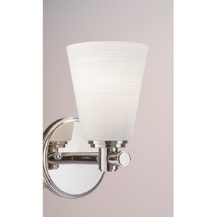 Hesser 1-Light Bath Sconce by ..