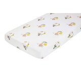 Menagerie Cotton Percale Flat Crib Sheet