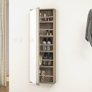 5 Level Shoe Storage with Mirror