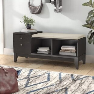 Auston Upholstered Storage Bench ByLatitude Run