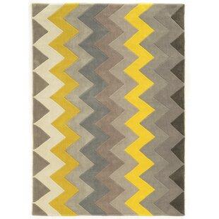 Grey And Yellow Area Rug Wayfair