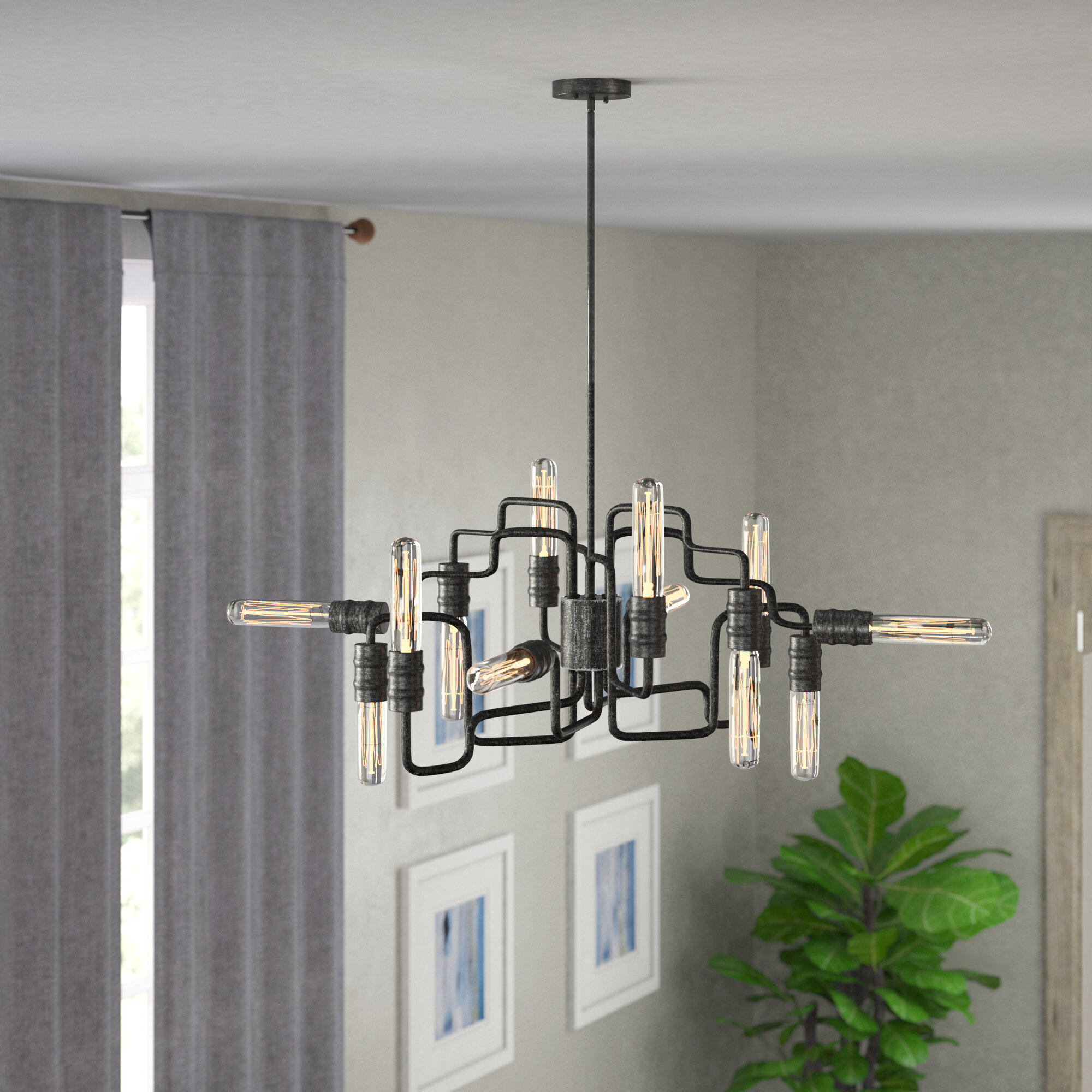 Trent Austin Design Columbus 12-Light Chandelier & Reviews | Wayfair