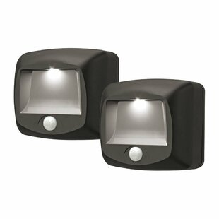 Motion Sensing Security 1 Light LED Step Light (Set of 2) (Set of 2)