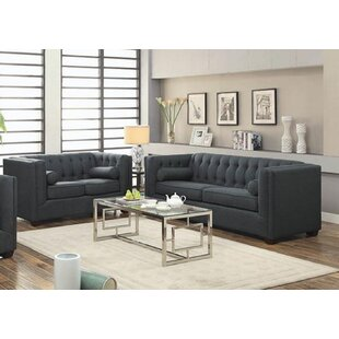 Compare prices Harkness 2 Piece Living Room Set by Rosdorf Park Reviews (2019) & Buyer's Guide
