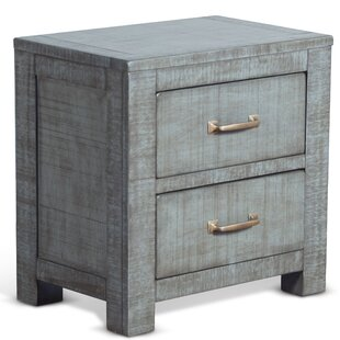 Bargain Page 2 Drawer Nightstand by Loon Peak