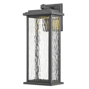 Red Barrel Studio Bradly 1-Light Outdoor Wall Lantern