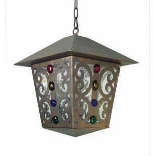 Julie 1-Light Outdoor Hanging Lantern