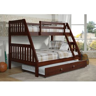 Bargain Chancey Twin over Full Bunk Bed with Trundle by Harriet Bee Reviews (2019) & Buyer's Guide
