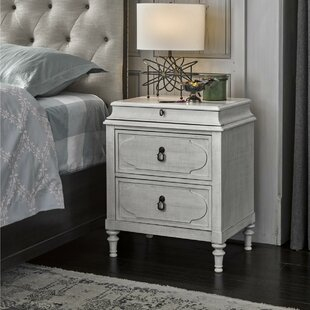 Vidar 3 Drawer Nightstand by One Allium Way