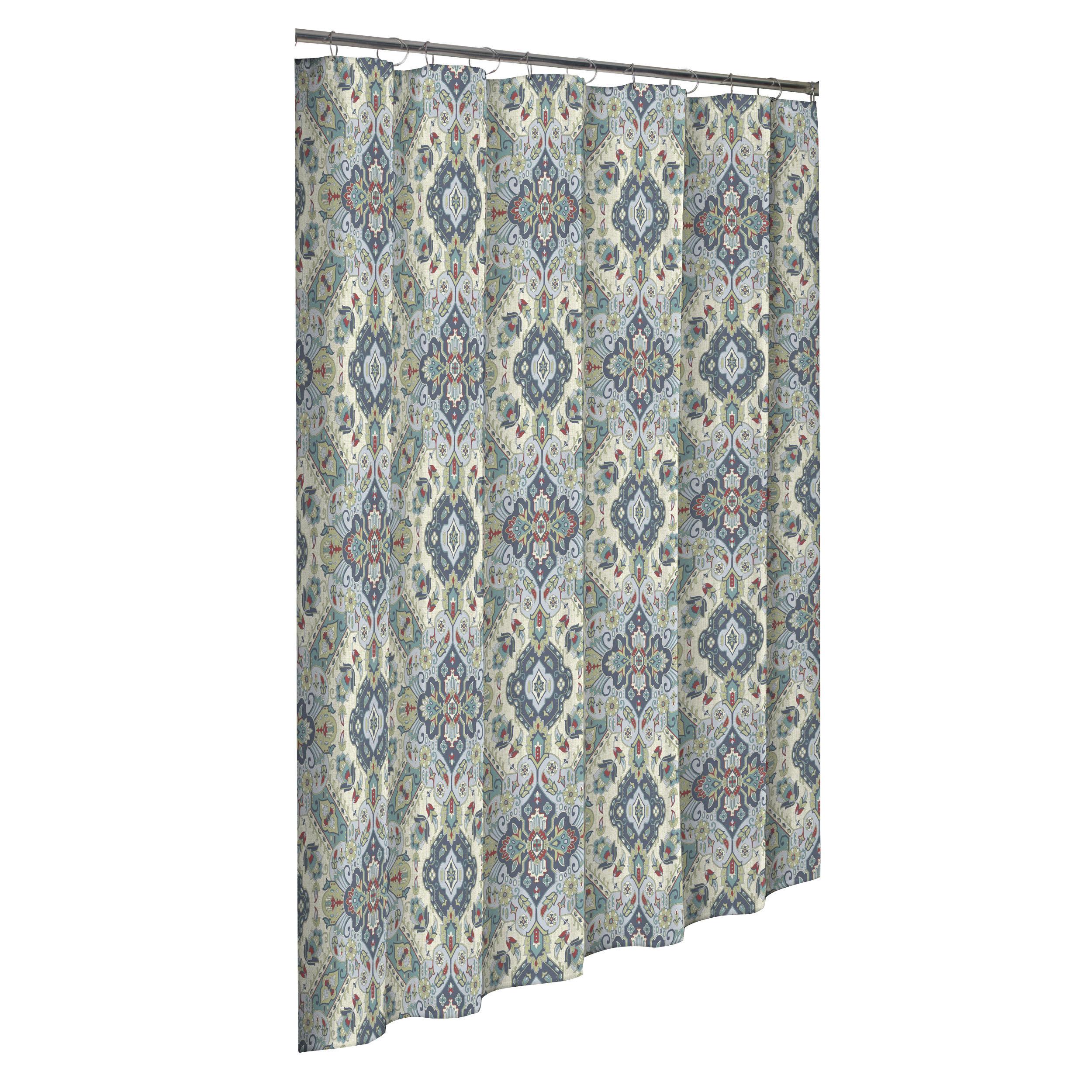 Fairlawn 100 Cotton Single Shower Curtain