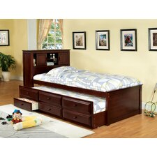 Montana Twin Captain Bed with Trundle by Hokku Designs
