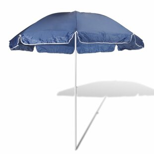 Skye 2.4m Beach Parasol By Freeport Park