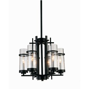 Reviews Maren 6-Light LED Candle-Style Chandelier By Gracie Oaks