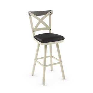 Karsten 30.5 Swivel Bar Stool Union Rustic