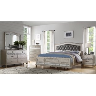Noble 4 Piece Bedroom Set by Rosdorf Park Top Reviews