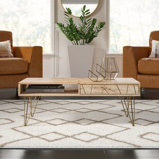 Banas Coffee Table with Tray Top