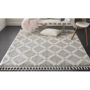 Hillside Modern Geometric Gray/Ivory Area Rug