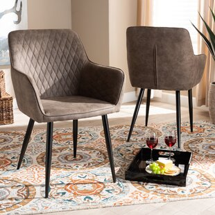 Spady Upholstered Dining Chair Set of 2 by Union Rustic