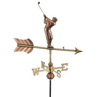 Boerpine Golfer Weathervane Image