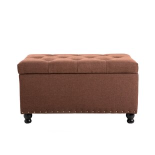 Signal Rectangular Tufted Storage Ottoman