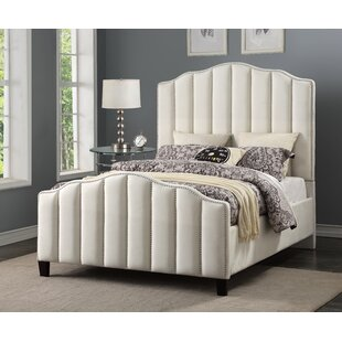 Livilla Channeled Upholstered Panel Bed
