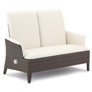 Brayden Studio Harman Loveseat with Cushions