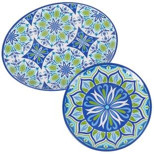 Hoehne 2 Piece Platter Set