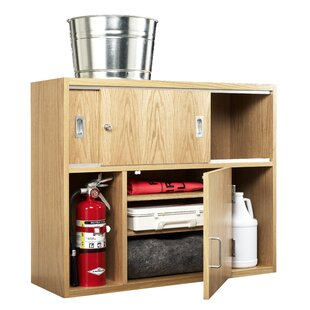 First Aid Safety Classroom Cabinet with Doors by Diversified Woodcrafts