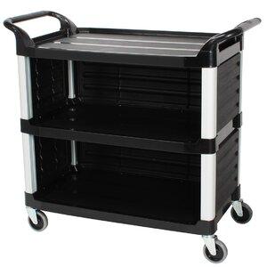 3 Tiers Plastic Serving Bar Cart