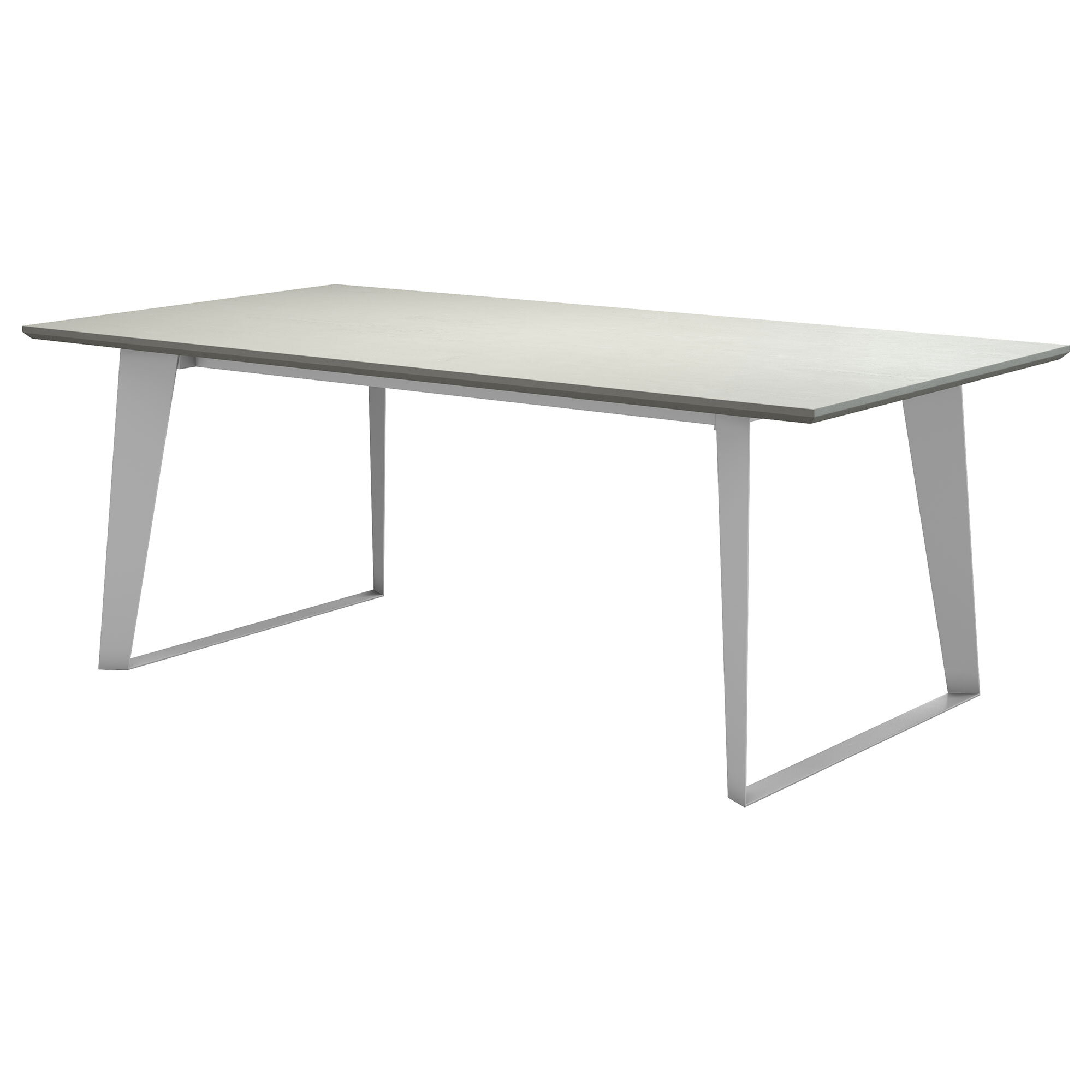 Amsterdam Steel Concrete Dining Table