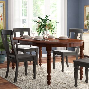 Corell Park Solid Wood Dining Table Alcott Hill