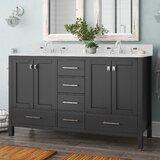 Pichardo 60 Double Bathroom Vanity Set by Brayden Studio®