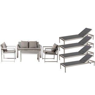 Hampshire 8 Piece Sofa Set with Cushions