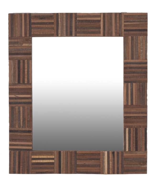 Cheyenne Rectangle Wood Mirror