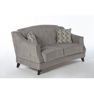 Best Reviews Carpentier Sleeper Love Seat by Darby Home Co Reviews (2019) & Buyer's Guide