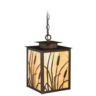 Perris 1-Light Square/Rectangle Pendant by Loon Peak