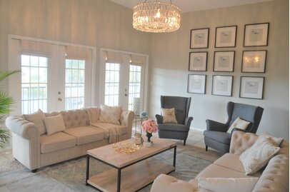 Living Room, Traditional Design Ideas | Wayfair
