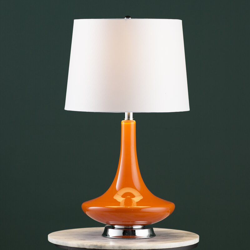 Burnt Orange Lamps | Wayfair