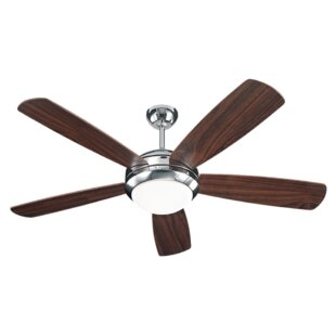 Polished nickel ceiling fans youll love save aloadofball Choice Image