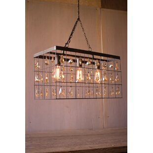 Gracie Oaks Inez Rectangle Foyer Pendant