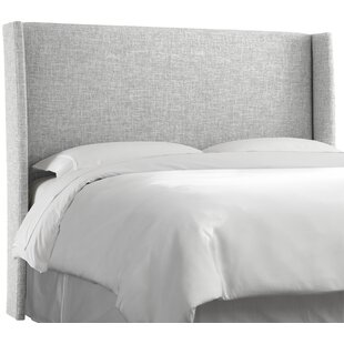 Lankford Upholstered Wingback Headboard